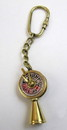 India Overseas Trading BR48202C - solid brass nautical keychain telegraph