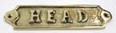 India Overseas Trading BR48234 - Solid Brass Door Sign