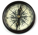 India Overseas Trading BR4839 Robert Frost Compass