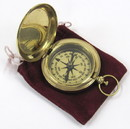 India Overseas Trading BR 4842 Dalvey Style Compass with Protective Velvet Bag