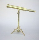 India Overseas Trading BR 4856 Telescope, Brass Stand 18