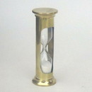 India Overseas Trading BR 4864 Brass, Glass, Sand Timer Hourglass 4