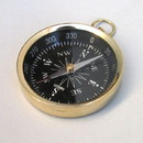 India Overseas Trading BR48851B - Pocket Flat Compass