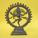 India Overseas Trading BR50281 - Statue Natraj Antique Finish