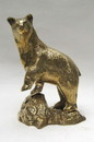India Overseas Trading BR6341 - Solid Brass Polar Bear