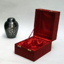 India Overseas Trading BR 67561 Brass Urn with Red Velvet Box