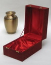 India Overseas Trading BR 67621 Brass Urn w Velvet Box