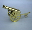 India Overseas Trading BR 7101 Solid Brass Cannon
