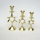 India Overseas Trading BR 9676 Candle Holder Set 3, Star of David