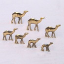 India Overseas Trading BR 9826 Solid Brass Mini Camel Set 7
