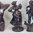 India Overseas Trading BRZ 5012 Lady Oriator, Bronze