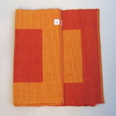 India Overseas Trading CA 27163 Placemats Ribbed 100% Cotton, Hand Woven (CR 56)
