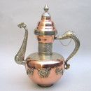 India Overseas Trading CO1268 - Tibetan Dragon Jug, Copper