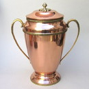 India Overseas Trading CO4063 - Large Copper Pot With Lid & Handles