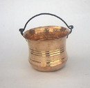India Overseas Trading CO 40811 Copper Vintage Bucket
