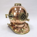 India Overseas Trading CO5255 - Copper & Brass Diver's Helmet