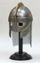 India Overseas Trading IR 80551 King Helmet with Etching and Chain Mail (IE78663)