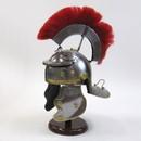India Overseas Trading IR 80669 Roman Centurion Helmet with Crest Red