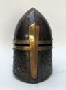 India Overseas Trading IR 80672 Armor Helmet Sugarloaf - Antique Finish