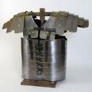 India Overseas Trading IR 80700B Lorica Segmentata Armor - Iron & Brass