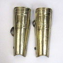 India Overseas Trading IR80742 - Spartan Greaves Set - Brass