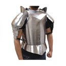 India Overseas Trading IR 8085 Medieval Suit Of Armor Breast Plate and Shoulders
