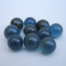 India Overseas Trading MR 101 Marbles, Glass Colored, Set of 12