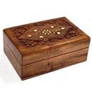 India Overseas Trading SH 1035 SH1035 - Carved Teak Wood Bo