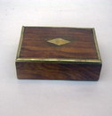 India Overseas Trading SH 1052 Sheesham Wood Box 5x7