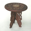 India Overseas Trading SH113 - Wooden Carved Table