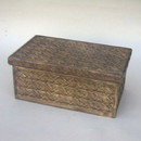 India Overseas Trading SH 2331 Nested Box Set, Hand Carved Wooden Chests