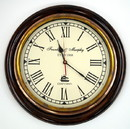 "India Overseas Trading SH4879 Marine 16"" Clock Replica"