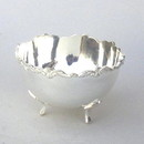 India Overseas Trading SP 23971 Decorative Brass Bowl, Silver Plated 4