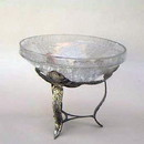India Overseas Trading SP 2408 Rose Stand With Cracked Glass