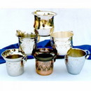 India Overseas Trading SP 26170 Beer Mug, Nickel Set 6, Assorted