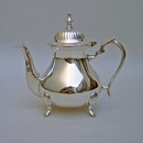 India Overseas Trading SP 4032 Silver Plated Tea Pot