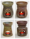 India Overseas Trading SS 22483 Soapstone Aroma Lamp, Large Asstd.