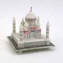 India Overseas Trading SS 3031 Soapstone Miniature Taj Majal Replica Model. 6