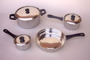 India Overseas Trading SST6995 - Stainless Steel Cookware, Pots And Pans Sets