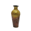 India Overseas Trading VA 39198S Red Ombre Mosaic Vase - Small