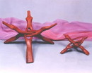 India Overseas Trading WN114 - Wooden snake stand 12