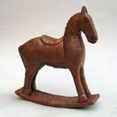 India Overseas Trading WW 206 Wooden Rocking Horse