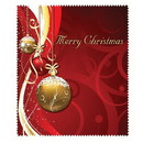 OptiSource 33-LCH12 Merry Christmas (Red) (bag of 100 cloths)