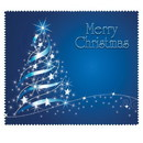 OptiSource 33-LCH13 Merry Christmas (Blue) (bag of 100 cloths)