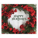 OptiSource 33-LCH16 Happy Holidays Wreath (bag of 100 cloths)