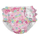 green sprouts Ruffle Snap Reusable Absorbent Swimsuit Diaper