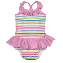 green sprouts Mix & Match 1pc Ruffle Swimsuit w/Built-in Reusable Absorbent Swim Diaper