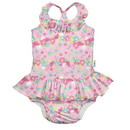 green sprouts 1pc Ruffle Swimsuit w/Built-in Reusable Absorbent Swim Diaper