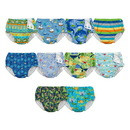 Mix & Match Ultimate Snap Swim Diaper Lime Sealife
