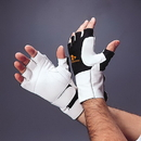 Impacto 475-30 Series Anti-Impact Glove with Wrist Support, Half Finger